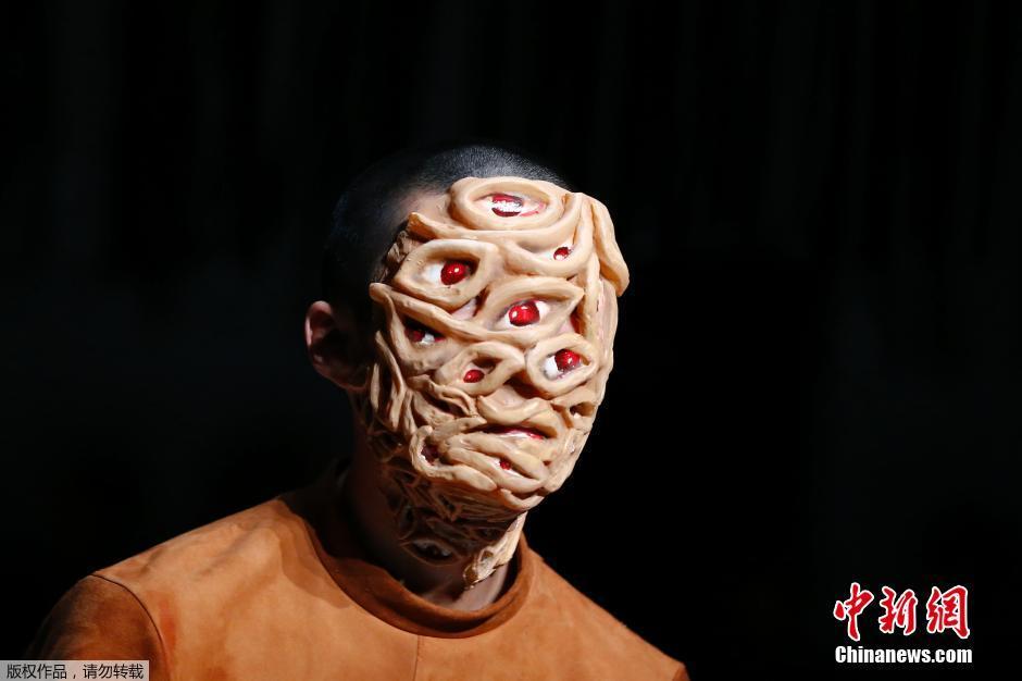 儿童脸部动物妆容