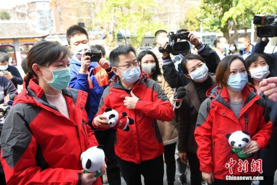 中国抗疫专家组启程赴意大利