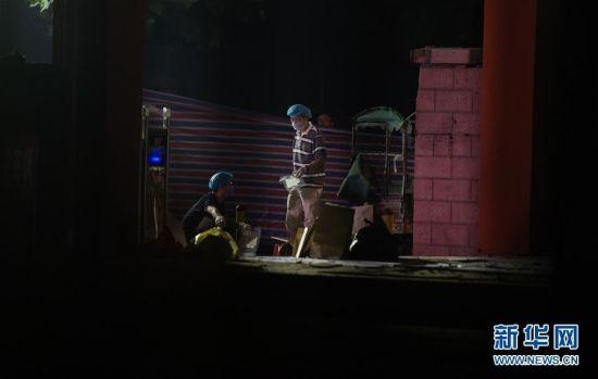 徐州幼兒園爆炸已致8死 警方勘查現場