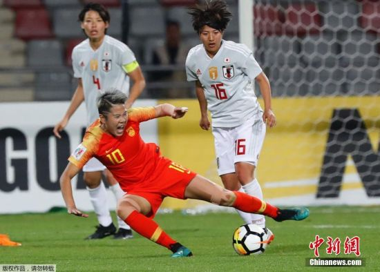 中国女足1-3不敌日本 无缘亚洲杯决赛