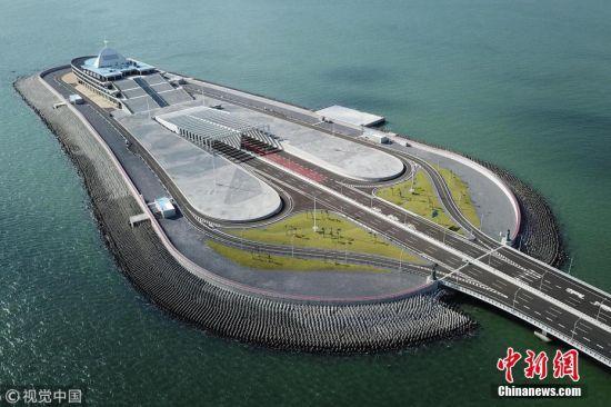 港珠澳大桥通车在即 美图先睹为快