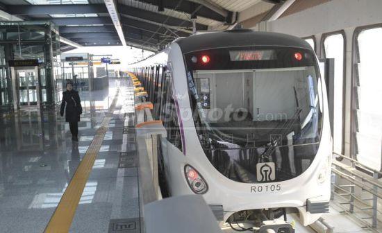 济南首条地铁开通试运营
