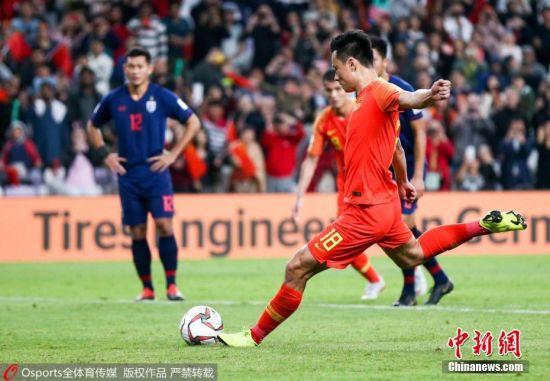 国足2:1逆转泰国晋级亚洲杯八强 25日凌晨0:00迎来1/4决赛