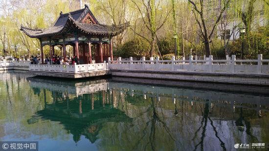 山东济南:泉城的春天