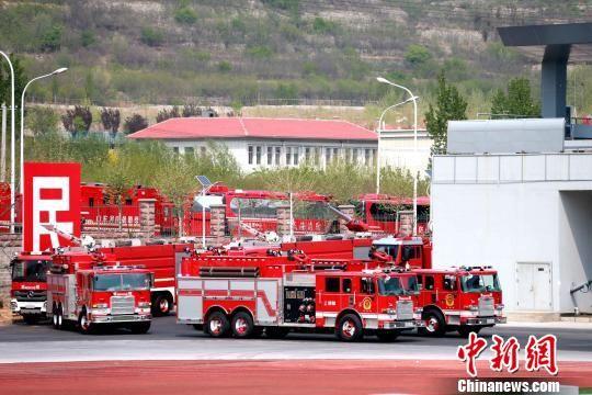 山东消防救援队伍全员练兵比武誓师大会在济南举行
