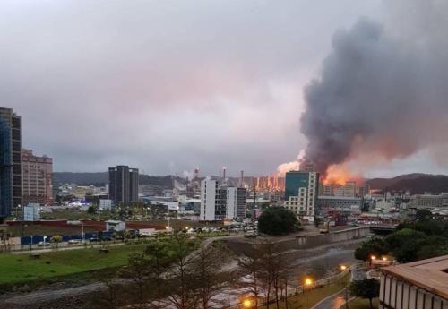 城市爆炸场景素材
