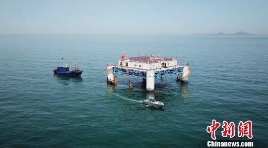 """山东打造""""深蓝""""牧场 去除海洋落后产能超百万吨"""