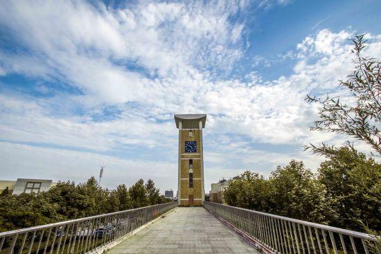 843号 聊城大学东昌学院张帆 屹立的钟楼